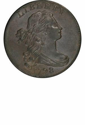 Draped Bust Large Cents - Years Made: 1796 - 1807 - Mint Marks: (P) - Mintage: 17 Million- - Value Range: $20 - $550,000 - Average Circulated Retail: $120