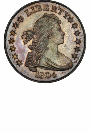 Draped Bust Silver Dollars - Years Made: 1795 - 1804 - Mint Marks: (P) - Mintage: ~1 Million - Value Range: $700 - $12,000,000 - Average Circulated Retail: $1000