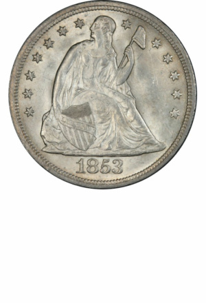 Seated Silver Dollars - Years Made: 1836 - 1873 - Mint Marks: (P), O, S, CC - Mintage: ~7 Million+ - Value Range: $150 - $250,000 - Average Circulated Retail: $550
