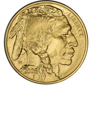 American Gold Buffalo (many sizes) - Years Made: 2008 - Present<br/>Mint Marks: (P), W - Mintage: ~1 Million+ - Value Range: $300 - $5,500 - Average Retail: $350, $600, $800, $1,400 - (dependent upon bullion market)