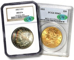 Coins worth money almost always sell better after certification from a major reputable TPG.