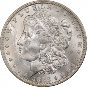 What's an 1888-O Scarface Silver Dollar Worth? This varietal rarity could be worth a lot as it's heavily collected and there are fewer than 20 pieces grading Mint State 63 or higher.