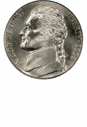 Jefferson Nickel, Westward Journey, Obverse