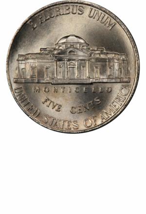 Jefferson Nickel, Return to Monticello, Reverse