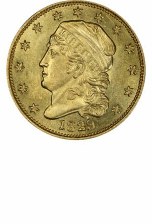 Capped Bust Quarter Eagle, Obverse
