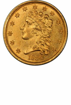 Classic Head Quarter Eagle, Obverse