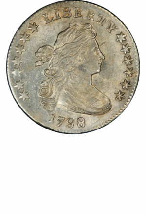 Draped Bust Dime, Large Eagle, Obverse