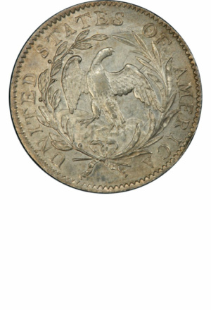 Draped Bust Dime, Small Eagle, Obverse