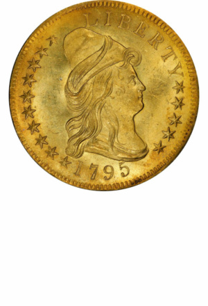 Draped Bust Eagle, Obverse