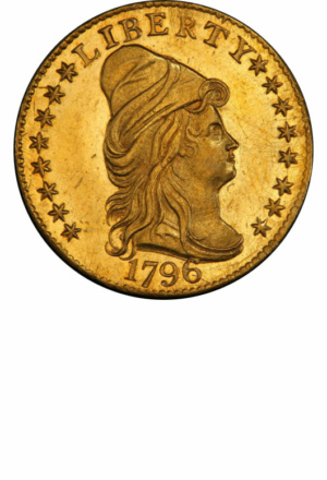 Draped Bust Quarter Eagle, with Stars, Obverse
