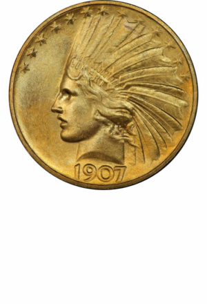 Indian Eagle, Obverse