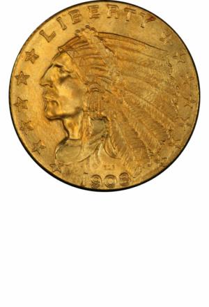 Indian Quarter Eagle, Obverse
