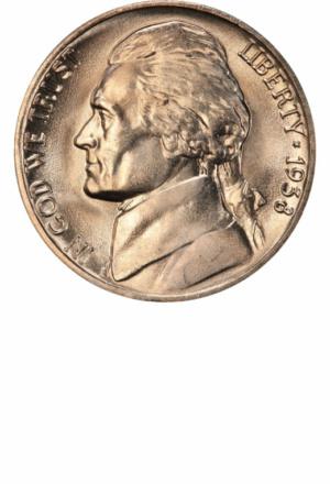 Jefferson Nickel, Obverse