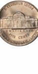 Jefferson Nickel, Reverse