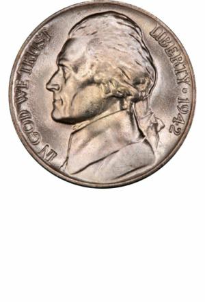 Jefferson War Nickel, Obverse