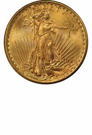 St. Gaudens Double Eagle, Obverse