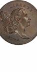 1794 Liberty Cap Half Cent, Facing Right, Obverse
