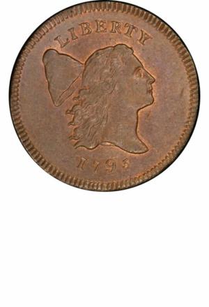 1794 Liberty Cap Half Cent, Facing Right, Small Head, Obverse