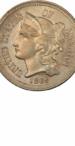 3-Cent Nickel, Obverse