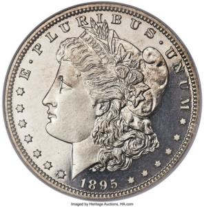 1895 Proof Morgan Silver Dollar
