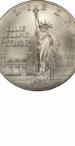 1986 Statue Of Liberty Commemorative Silver Dollar, Obverse