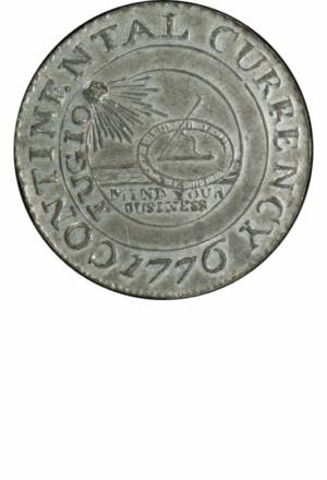 Continental Dollar, Obverse