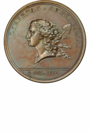 Libertas Americana Medal, Obverse