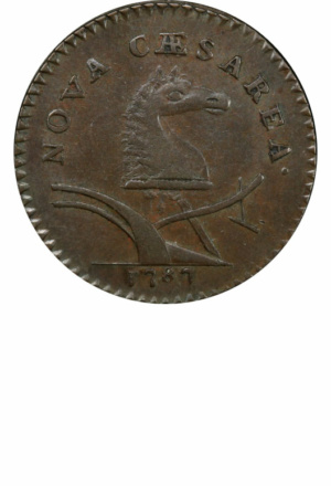 New Jersey Copper, Obverse