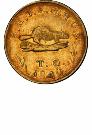 $5 Oregon Gold, Obverse