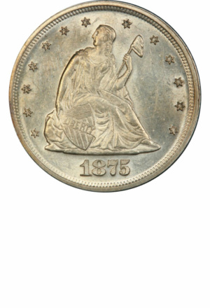 Seated 20-Cent Piece, Obverse