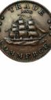 Ship Civil War Token, Obverse