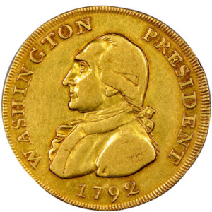 "1792 Washington ""Eagle"", Obverse"
