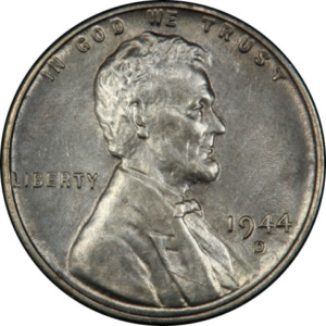 What's a 1944-D Steel Wheat Cent Worth? A lot! But there are a LOT of counterfeits. And 1943 Lincoln Wheat Cents from every mint are extremely common, and not worth a lot. Before you submit your coin for certification, you might get a Numismatist's Professional Opinion.