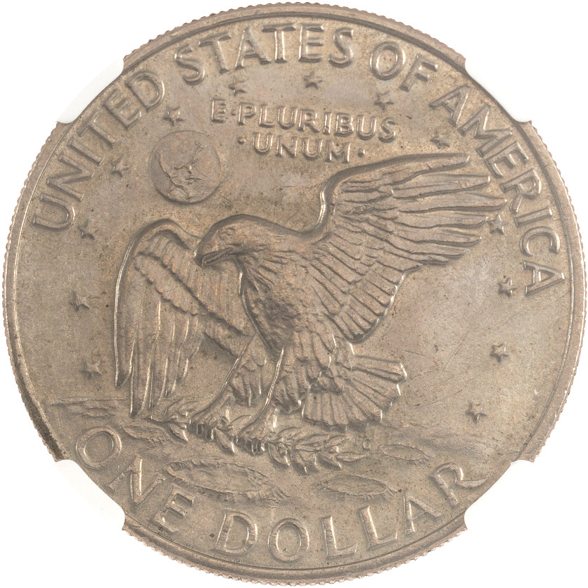 From the Armstrong Family Collection Sale - 1972 Eisenhower Dollar, Type 3, Reverse